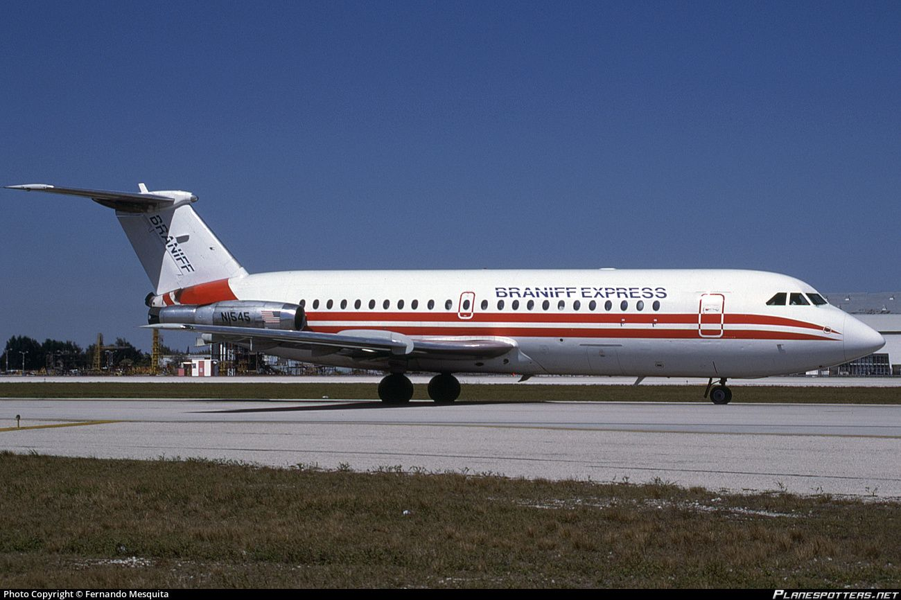 BRANIFF EXPRESS, BAC 1-11-203AE One-Eleven, Miami - International (MIA / KMIA) USA, February 1988 by Fernando Mesquita