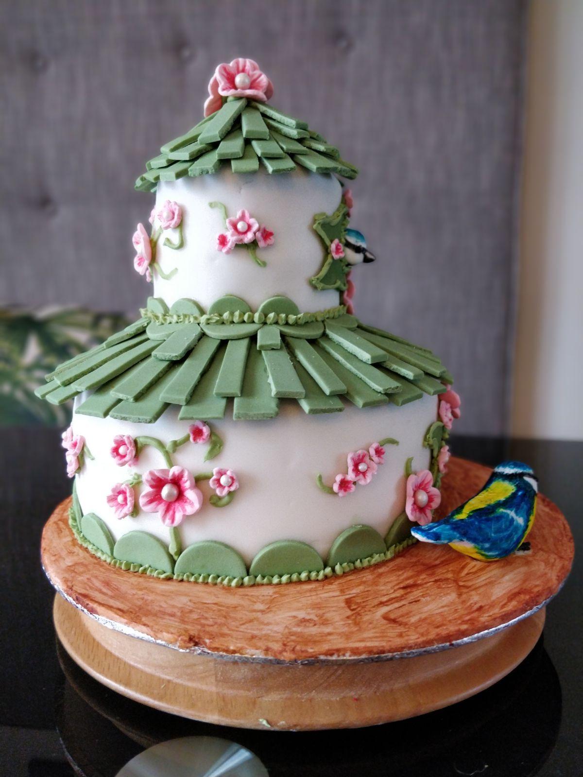 Mums 80th birthday cake