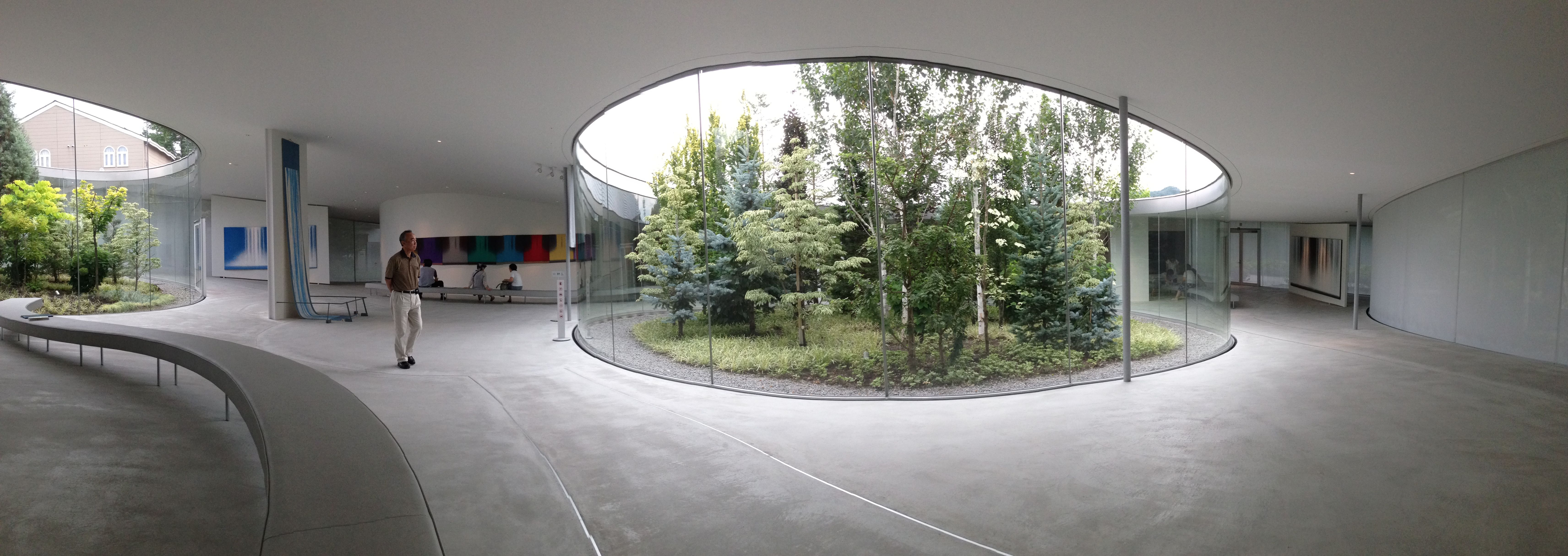 Senju hiroshi museum karuizawa architect sanaa for Karuizawa architecture