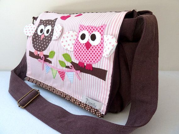 Diaper Bag Personalized Owl By Naniludesign 95 00
