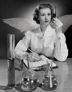 Image result for Angels is a scientist