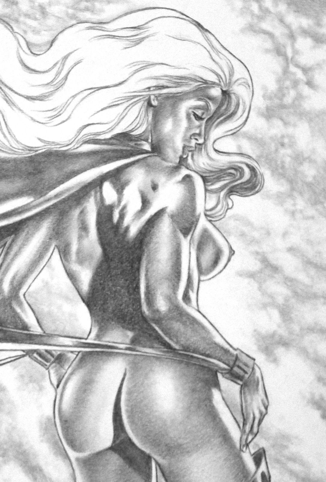Think, X men storm naked