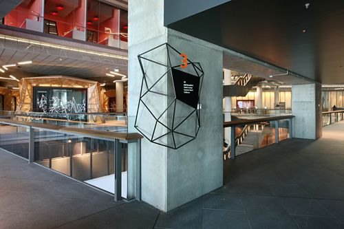 Sinalizao NAB headquarters | Interior Wayfinding ...
