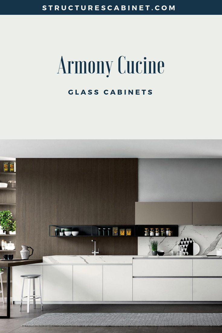 Armony Cucine Glass Cabinets Glass Kitchen Glass Cabinet Cabinet Design