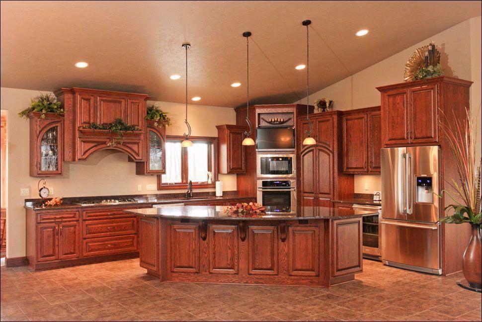 42 Inch Cabinets Kitchen in 2020   Upper kitchen cabinets ...