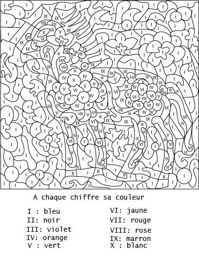 Coloriage Numerote Adulte En Ligne