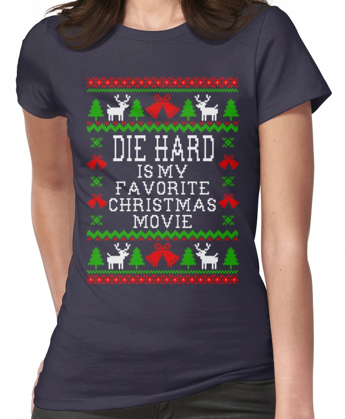 Die Hard Is My Favorite Christmas Movie Ugly Christmas Sweater