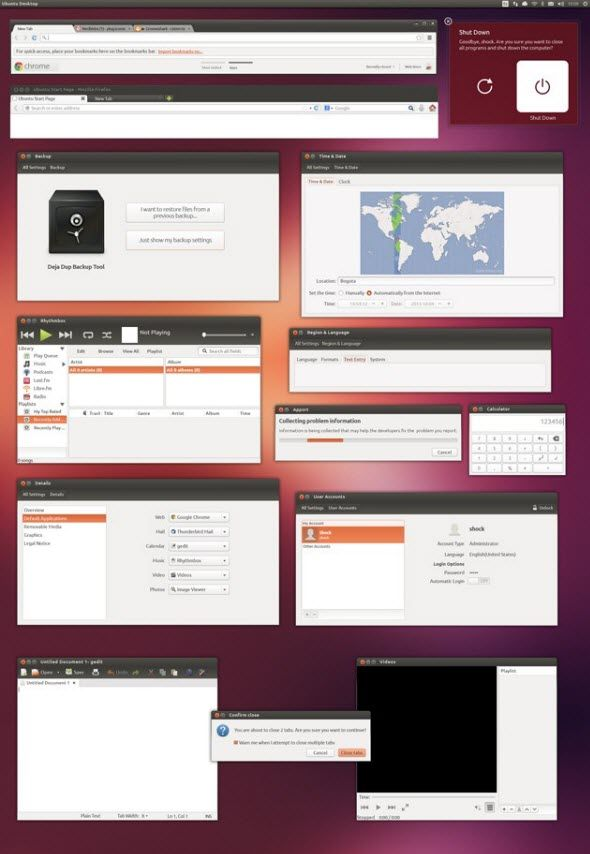 Ubuntu freebies