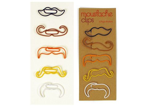Mustache Clips Must Find Some Of These