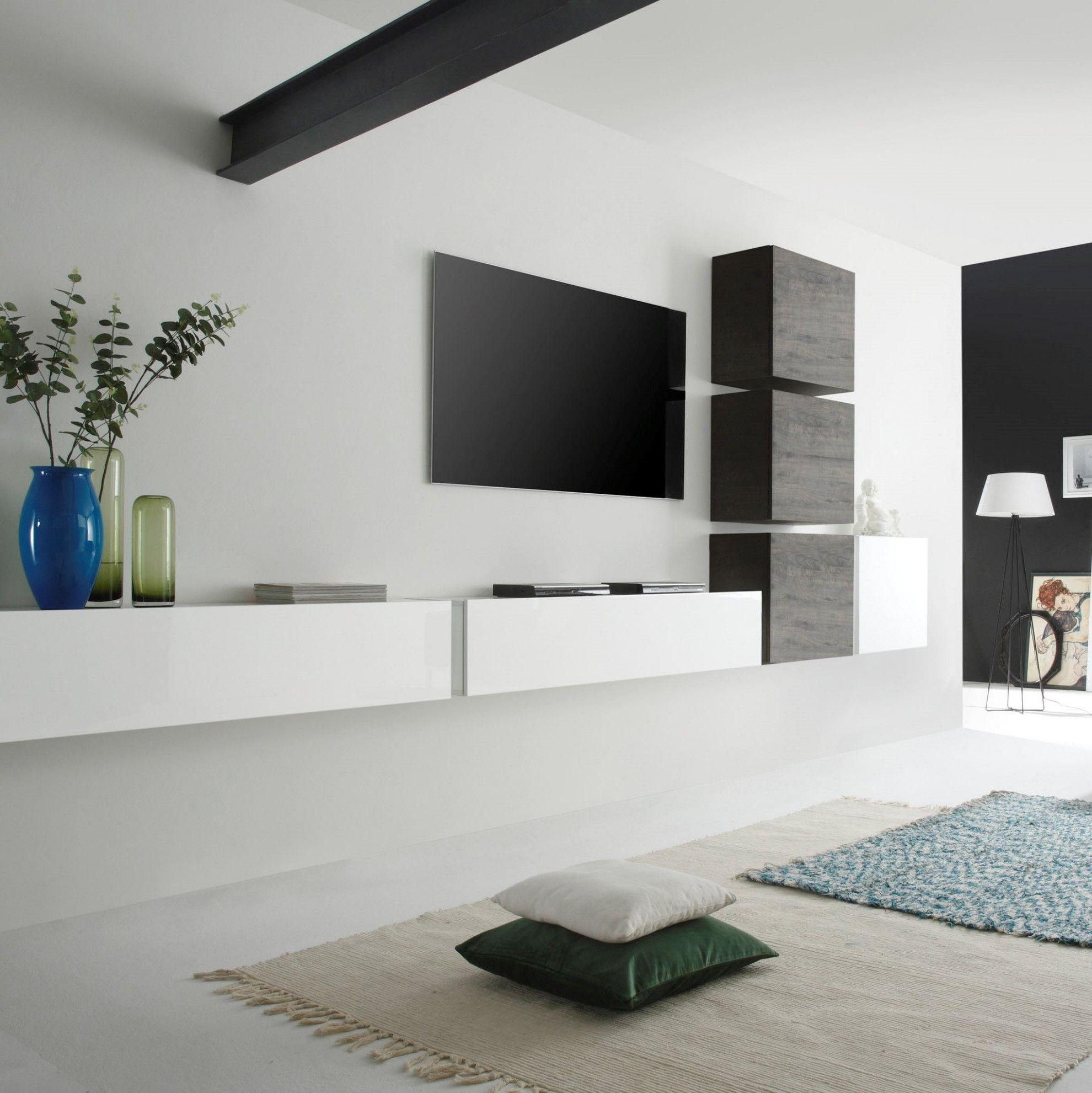9 Wohnzimmer Schrankwand Design  Living room tv wall, Wall unit