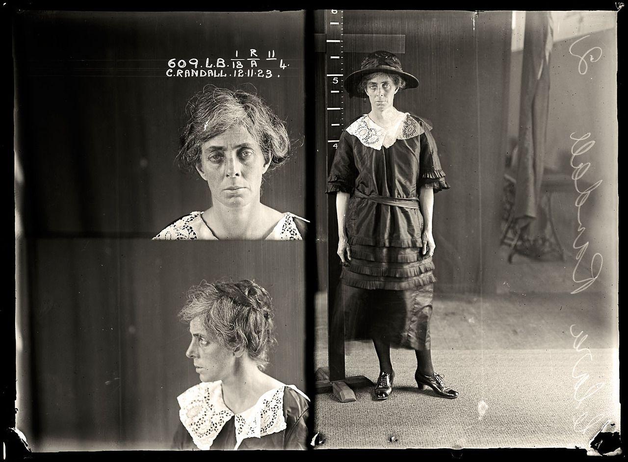 The vintage mugshots of shoplifters bank robbers and murderers from - Sydney Police Vintage Mugshots 1920 S