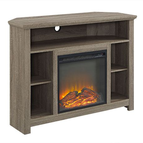 Manor Park Tall Corner Fireplace Tv Stand For Tv S Up To 48
