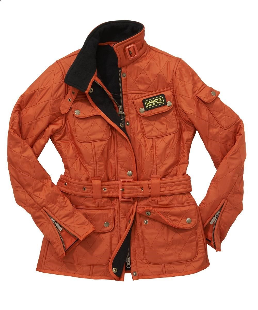 ladies barbour international jacket