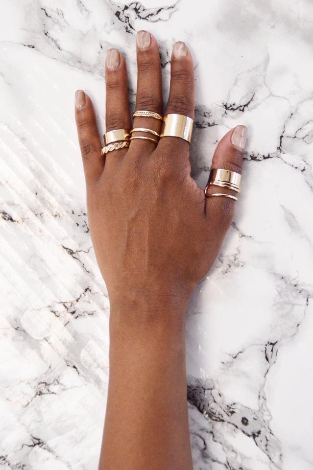 The Small Things Ring Set - Gold | Fashion Nova