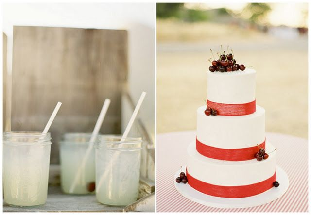 Real Rustic Cherry-Inspired Wedding: Cathleen & Eric