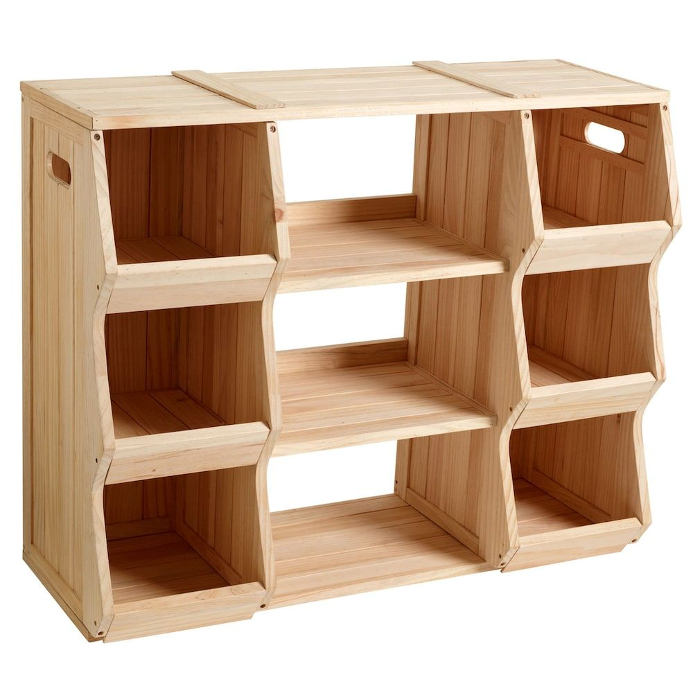 Merry Products Children S Bookshelf Storage Cubby In 2020 Kids Bookcase Childrens Book Shelves Cubby Storage