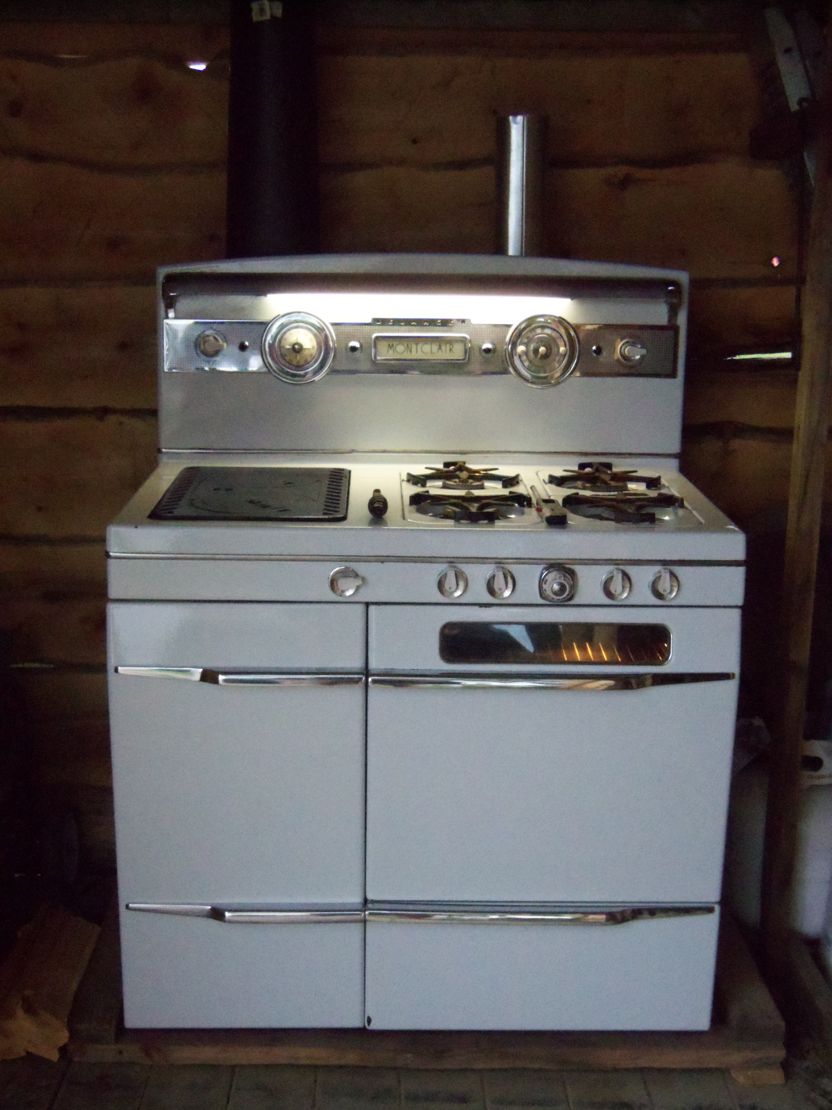 This is a Belanger Wood/Propane Combination Cook stove. I don\'t have ...