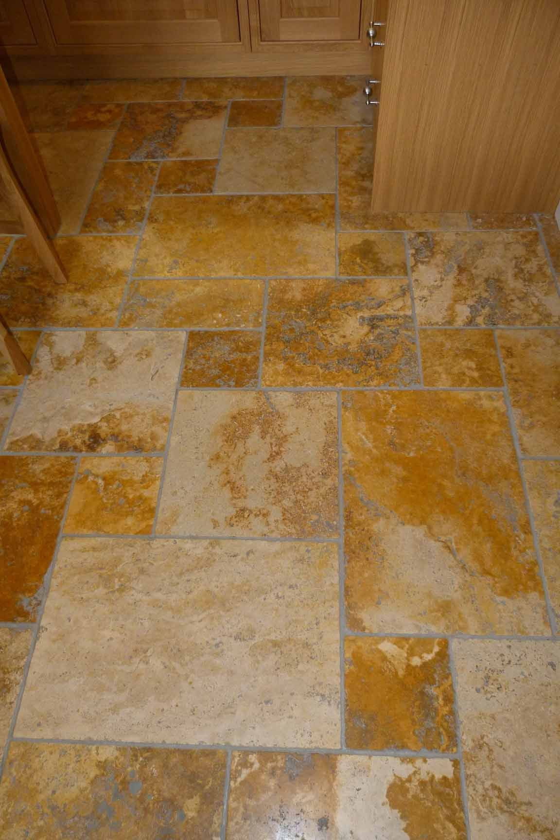 Travertine Floors In Kitchen Travertine Flooring Oak Kitchen Travertine Floor Tiles We Fit