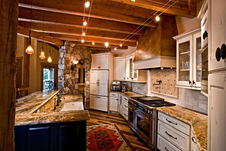 lampadari a sospensione di design per illuminare la cucina ...