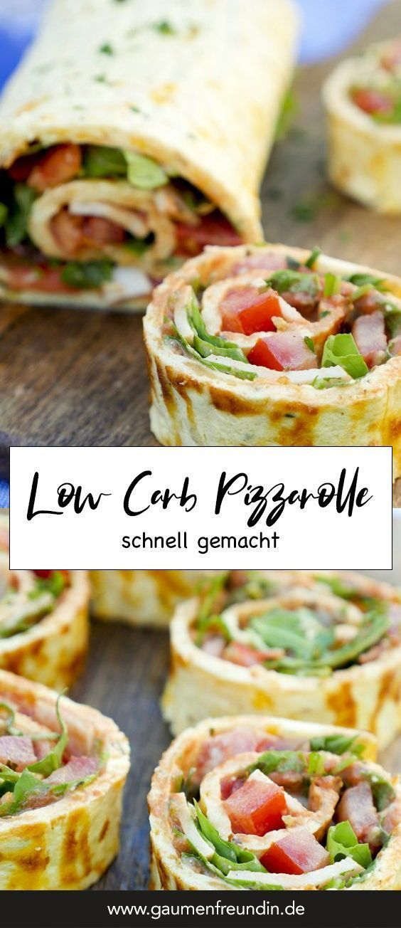 Low carb pizza roll – a quick and healthy low carb recipe  – Recipes to Cook