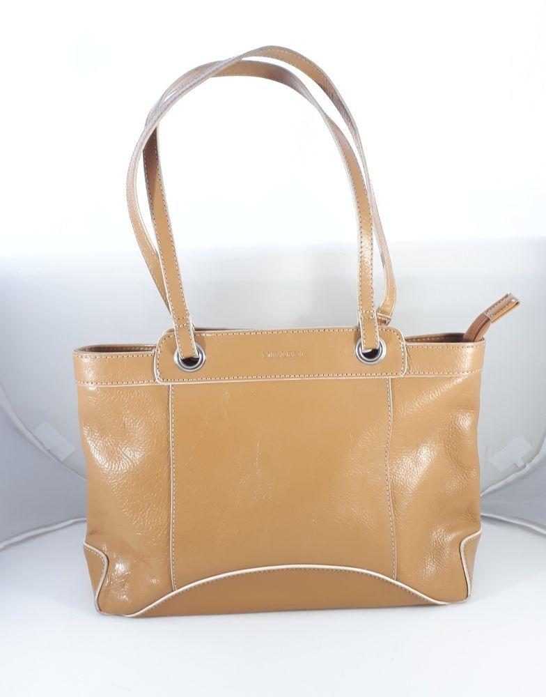 Milleni Caramel Tan Genuine Leather Handbag Shoulder Bag