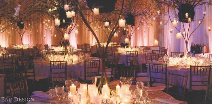 I Chose To Have An Enchanted Forest Prom Theme Because Absolutely Adore The Outdoors And Beautiful Light Settings Would Keep Decor Tables