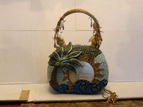 Mary Frances Designer Beaded Purse Ebay Im Inlove