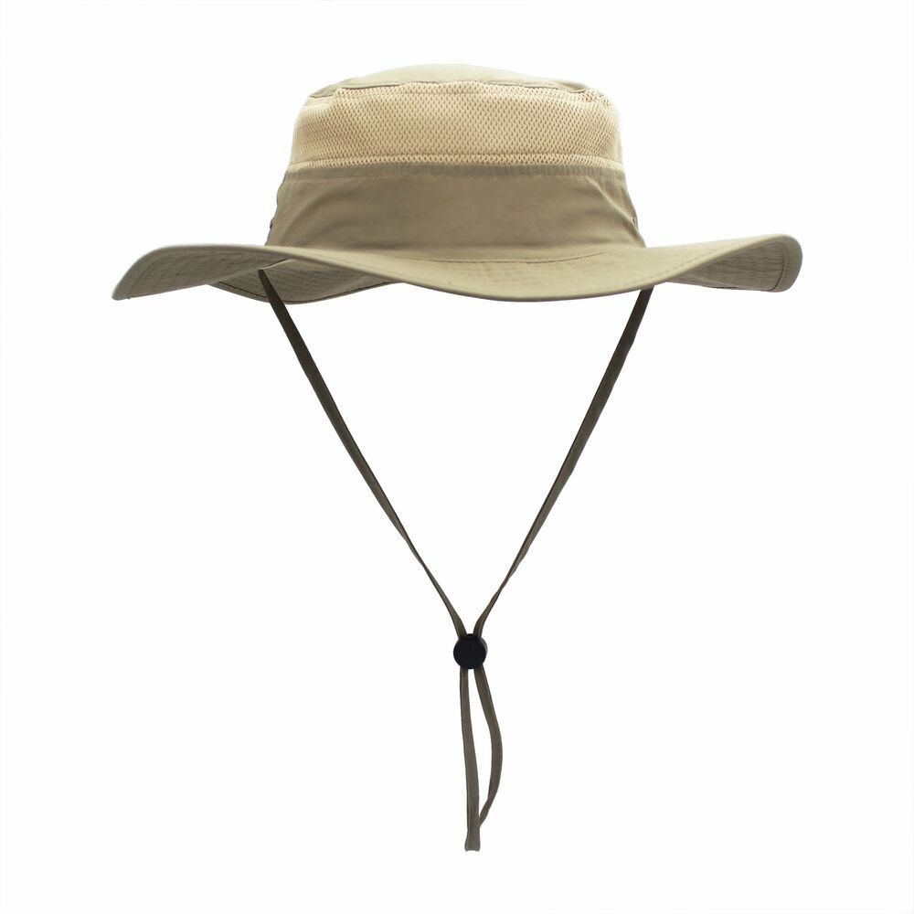 Home Prefer Fishing Hat Safari Cap with Sun Protection Windproof Men and Women