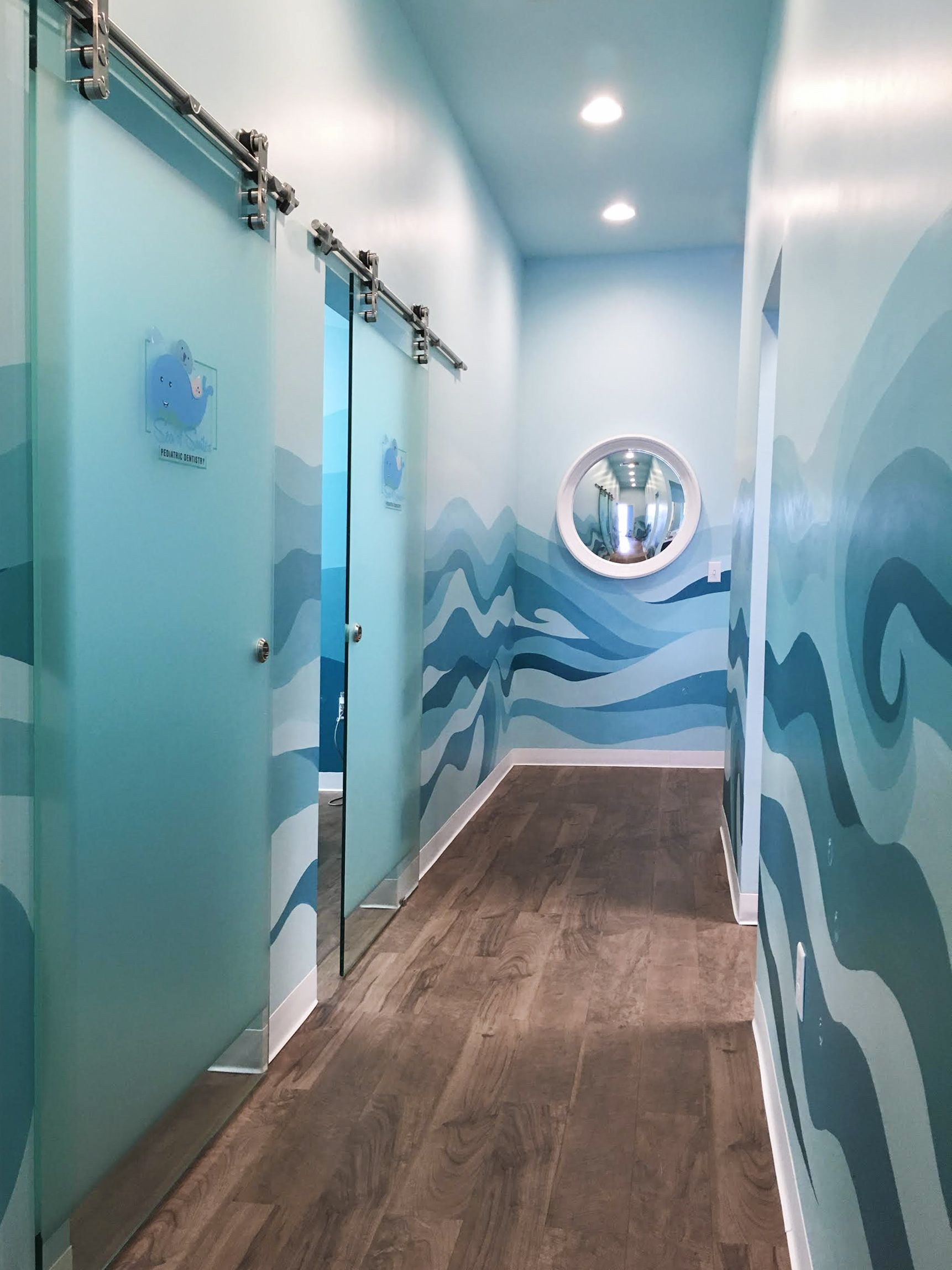 Under The Sea Themed Pediatric Dental Office Awesome Waves