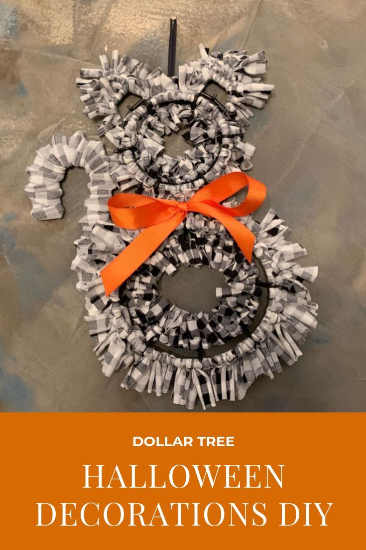 Halloween Decorations DIY Dollar Tree Tinsel Cat (With