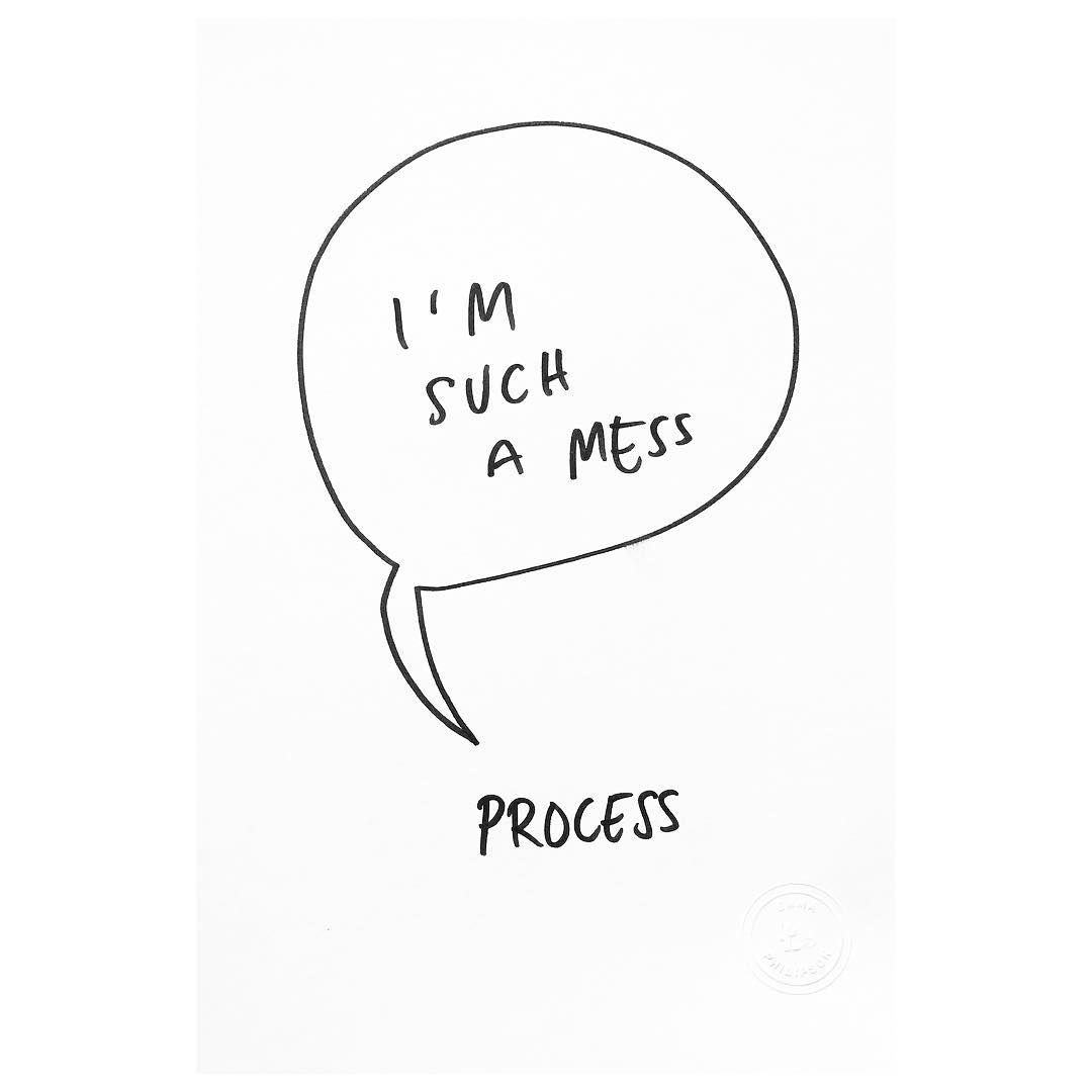 Messy process | Emma Philipson