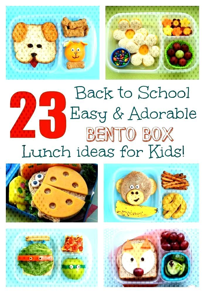 23 Easy & Adorable Back-to-School Bento Box Lunches! 23 Easy & Adorable Back-to-School Bento Box Lu