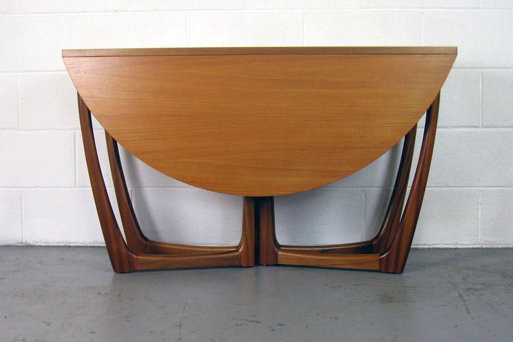 Lovely Beithcraft Drop Leaf Teak Dining Table Danish Mid Century G Plan Heals Teak Dining Table Dining Table Mcm Furniture