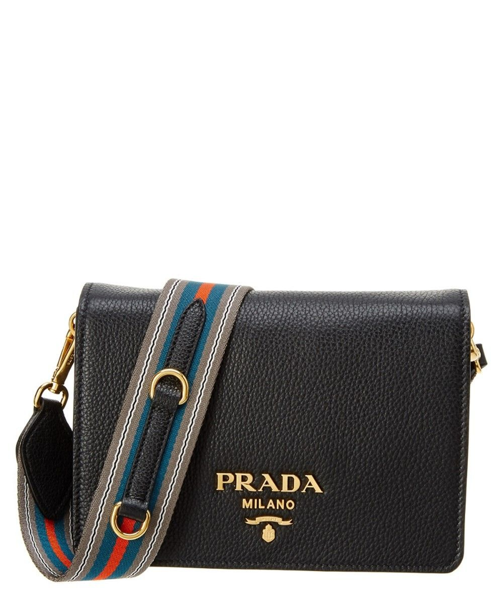 9b2e718ccefe Prada Vitello Daino Double Compartment Leather Shoulder Bag | Nordstrom