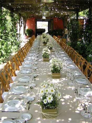 Ideas para preparar y decorar la primera comuni n en casa - Decoracion de mesa para comunion ...