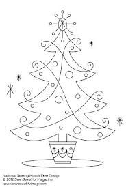 Pin By I Sew Free On Embroidery Christmas Tree Embroidery Design Christmas Embroidery Patterns Embroidery Patterns Vintage