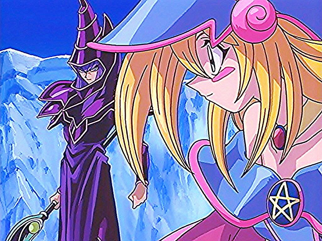 Yugioh! Dark Magician X Dark Magician Girl by chyo10 on DeviantArt