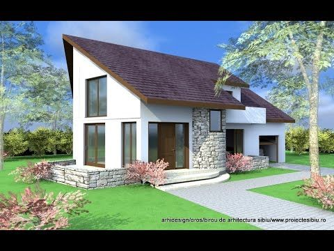 house plans ande exterior design attic style house arhitect mircea rh pinterest com attic style home design attic style house plans