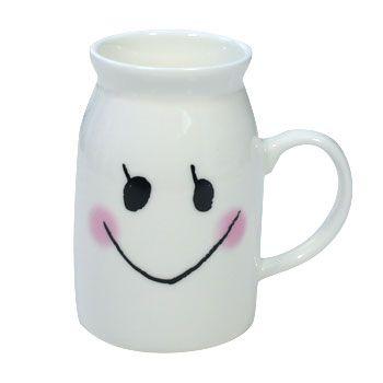 Milk Mug with Face