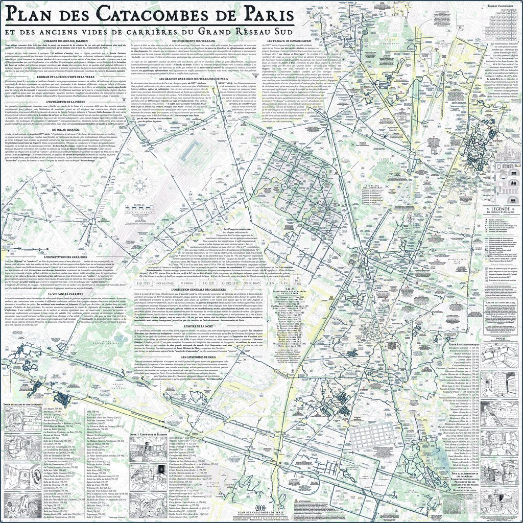 Plan Des Catacombes De Paris Paris Map Paris Catacombs Map Map