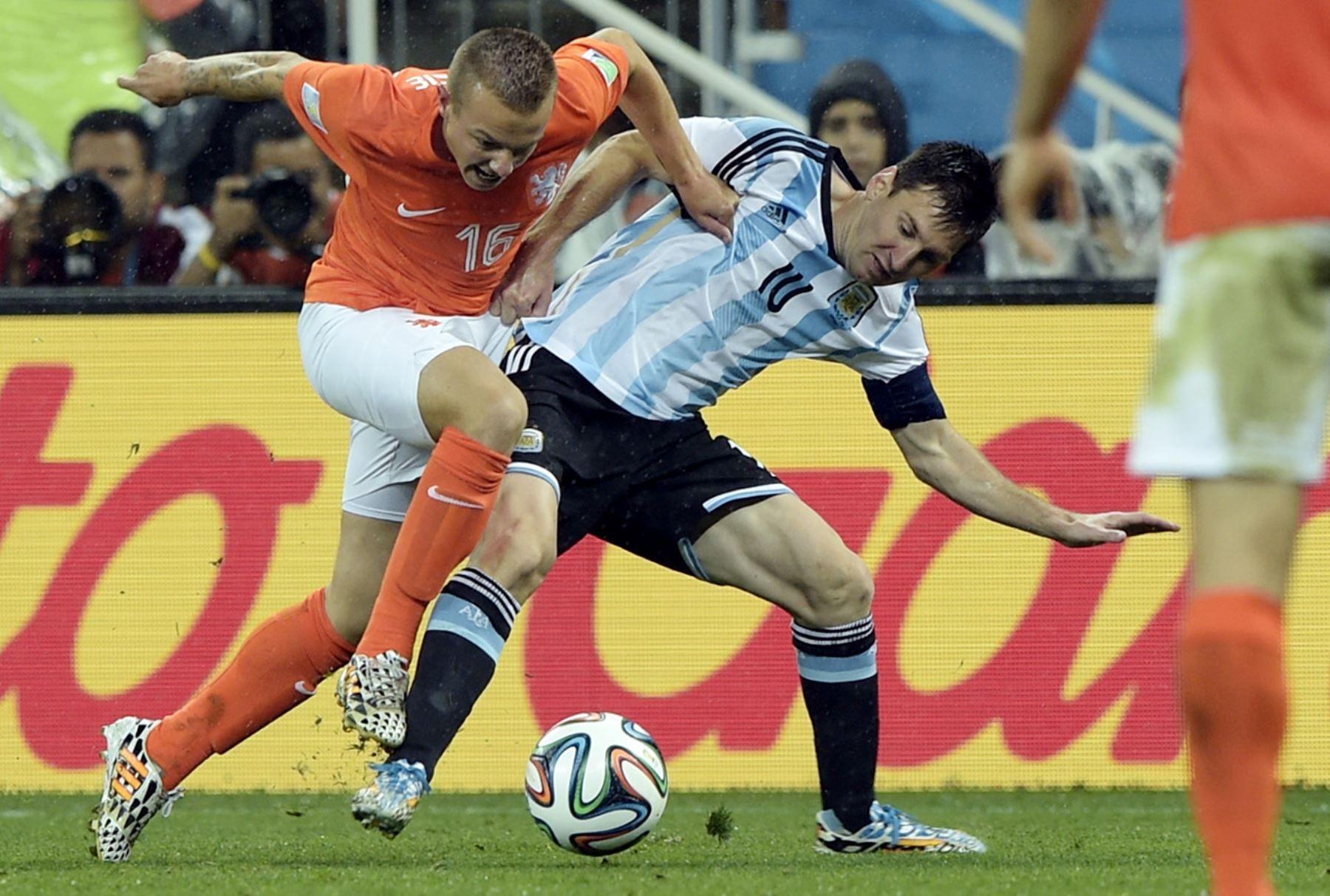 Argentina Holanda, Mundial Brasil 2014.