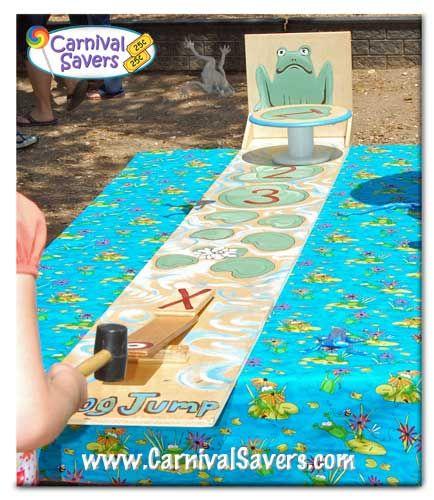 12 Fun Circus Carnival Party Games: Homemade Carnival Games Image