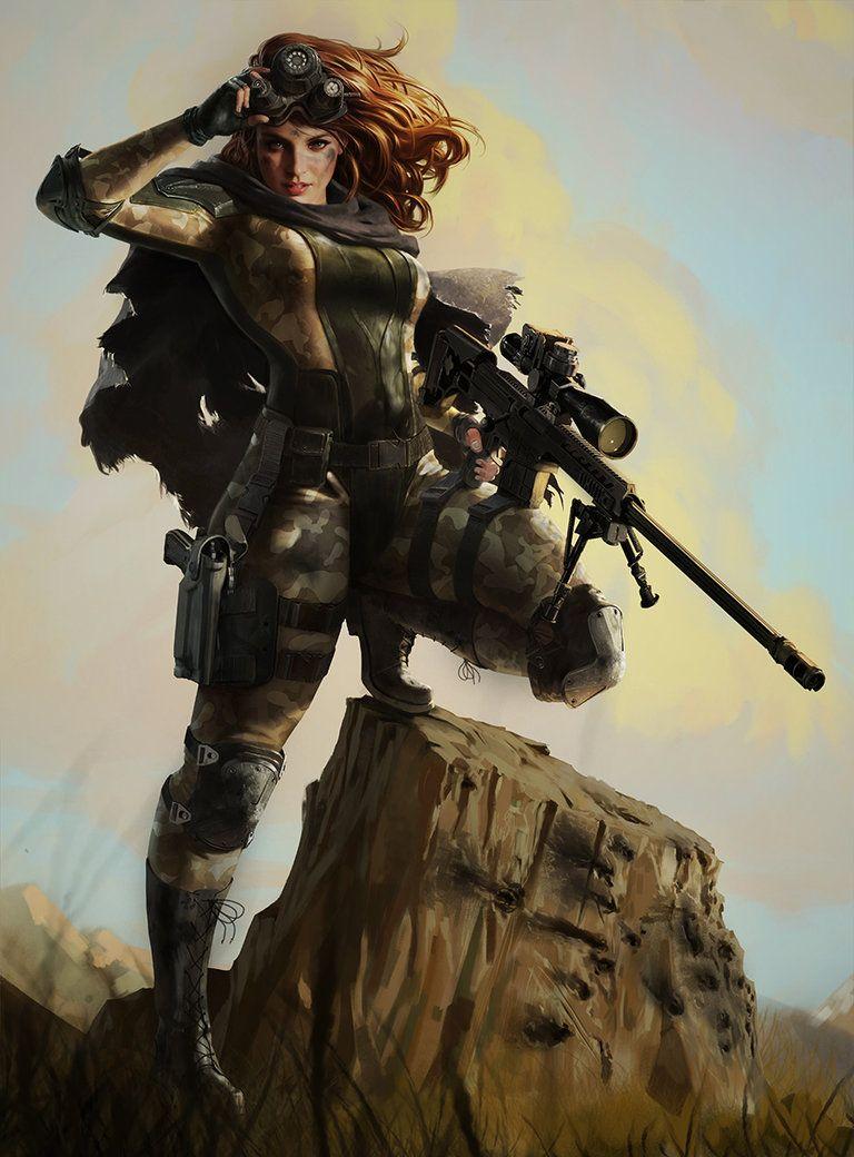 Sniper Girl Sniper Girl Sniper Art Sniper