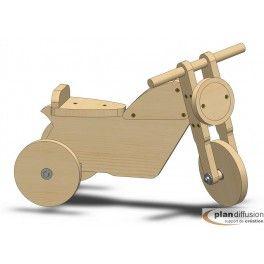 tutoriel pour fabriquer soi m me se porteur moto en bois pour enfant bricolage pinterest. Black Bedroom Furniture Sets. Home Design Ideas