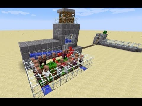 Minecraft Tutorial - 1 8 Infinite Adult Villager Spawner and