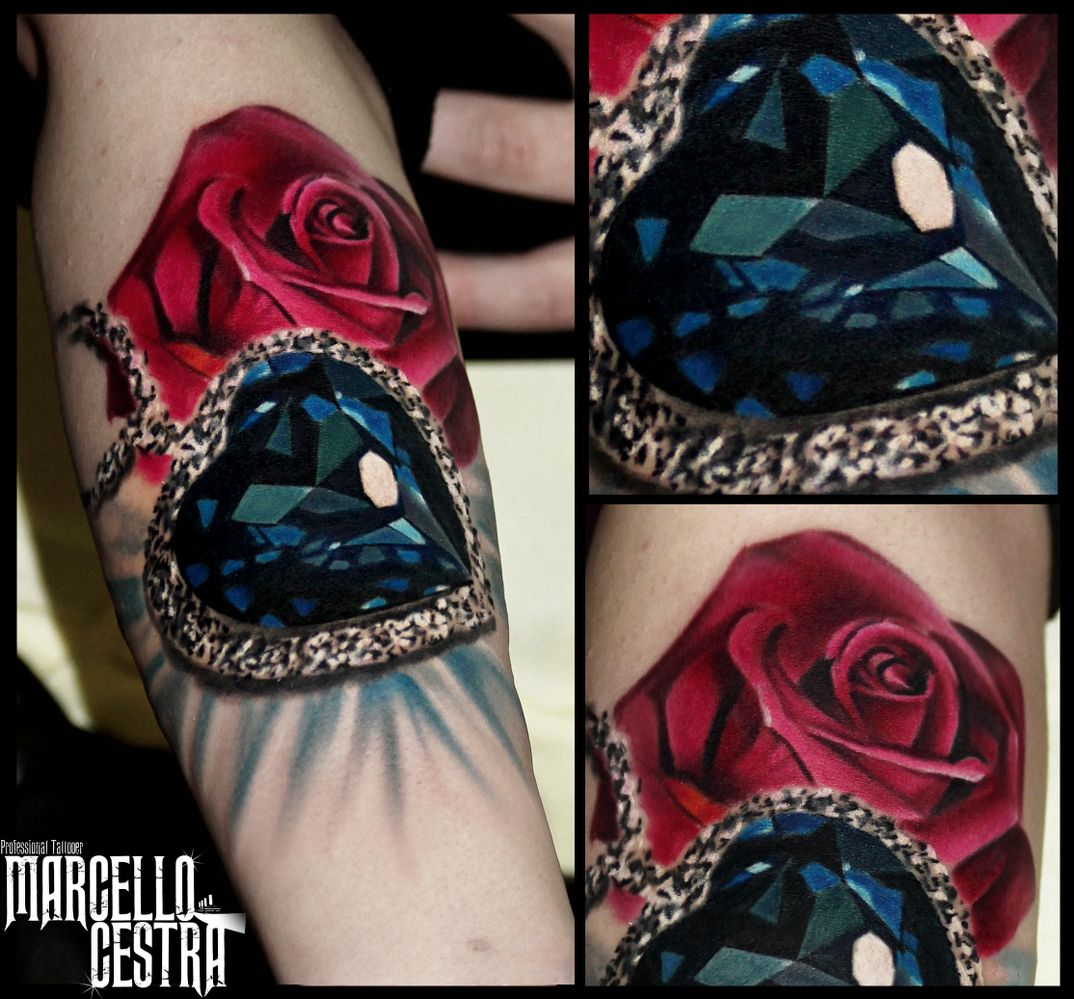 HEART OF OCEAN - heart medaillon | Pinterest - Tatoeage, Tatoeages ...