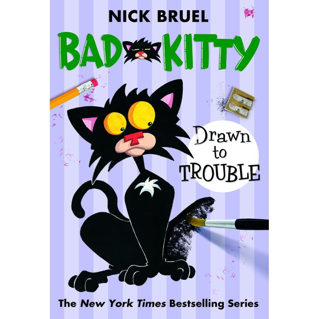 Bad Kitty Drawn To Trouble Paperback Bad Cats Kitty Drawing Kitty