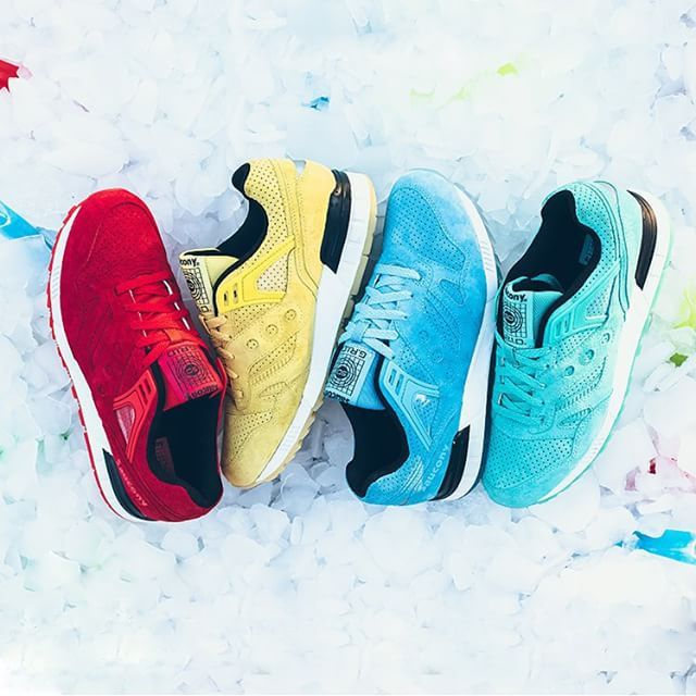 Nice Kicks On Instagram Sauconyoriginals Delivers A No Chill Pack Of Grid Sds That Is Sure To Transition From Summe Saucony Sneakers Saucony Grid Sneakers