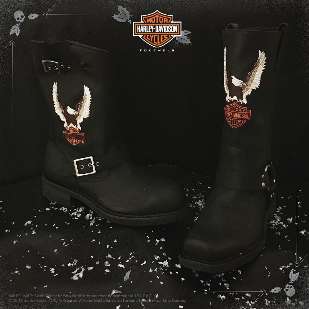 Classic. Iconic. Legendary. Dominate holiday gift giving with these authentic styles.  Shop men's Jerry and Darren motorcycle boots at harley-davidsonfootwear.com