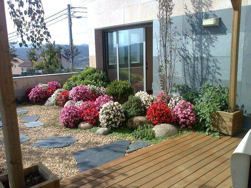 Jardin en cubierta jardines pinterest jard n for Terrazas ajardinadas